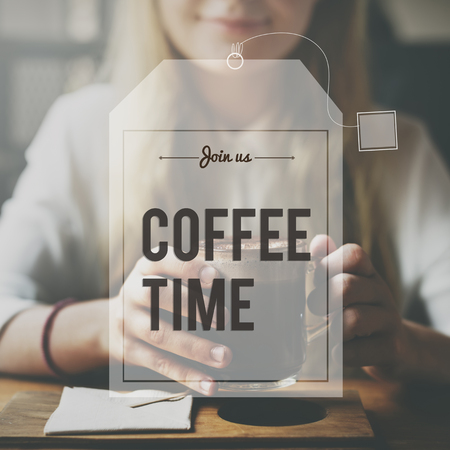 caffeine free: Break Tea Coffee Time Relax Concept