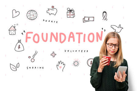 nonprofit: Foundation Donations Charity Support Concept