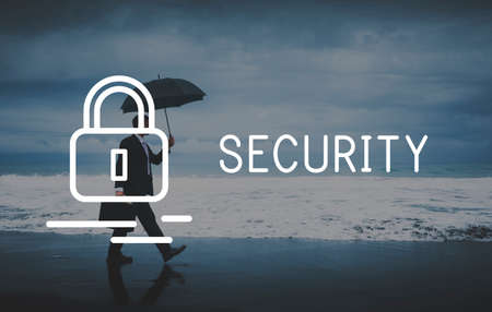 private insurance: Security Insurance Privacy Private Protection Concept