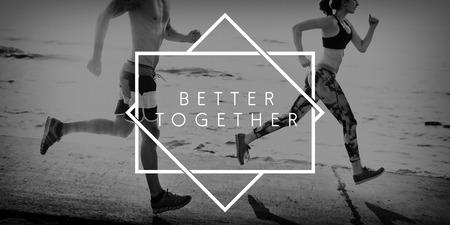 apoyo familiar: Mejor Juntos Familia Comunidad Concepto Soporte Foto de archivo