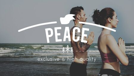 peace and quiet: Peace Calm Freedom Quiet Solitude Tranquility Concept