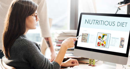corporate women: Healthy Foods Wellbeing Lifestyle Nutrition Concept