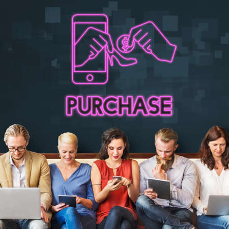 Purchase Buy Shopping Spending Retail Concept