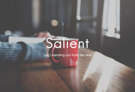 outstanding: Salient Special Outstanding Unique Concept