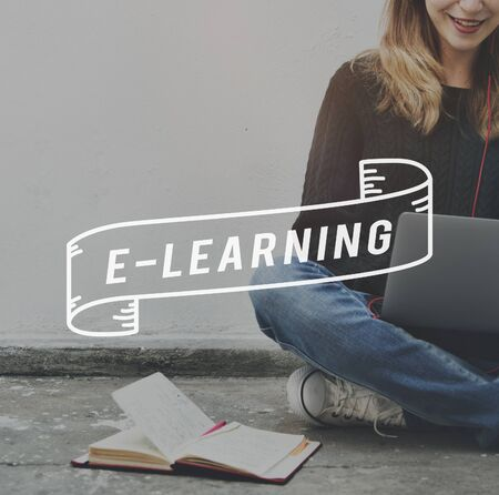 instructional: E-learning Online Education Internet Concept