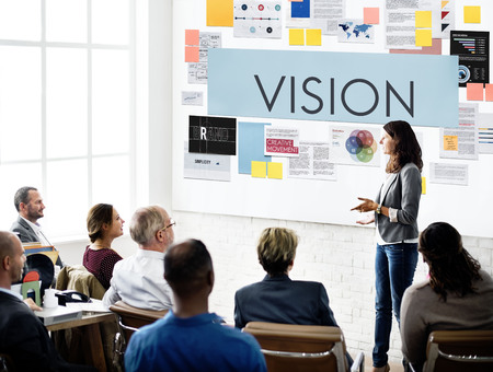place to learn: Document Marketing Strategy Business Concept Stock Photo