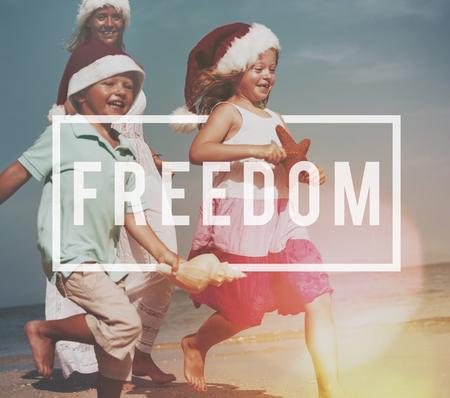 derechos humanos: Freedom Emancipated Human Rights Lberty Concept