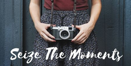 seize: Seize The Day Moments Breath Enjoy Share Relax Concept Stock Photo