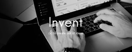 invent: Invent Creative Invention Innovation Ideas Concept