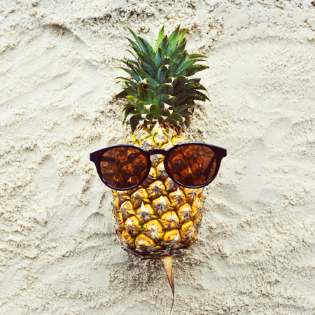 Pineapple Fruit Healthy Eating Vitamin Natural Nutrition Concept