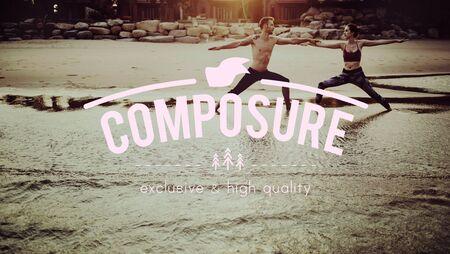 composure: Composure Calm Freedom Peace Privacy Quiet Concept Stock Photo