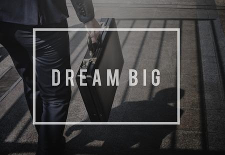 attache case: Dream Imagination Imagine Vision Inspire Concept