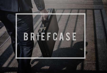 brief case: Brief Case Business Baggage Luggage Storage Concept