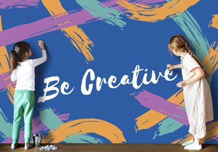 Artist Ideas Creative Imagine Word Concept Stock Photo
