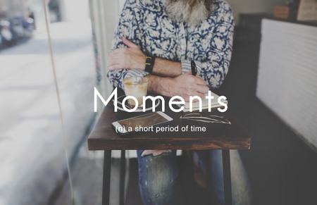 period of time: Moments Period of Time Life Momeries Concept Stock Photo