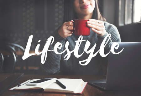 interests: Lifestyle Culture Way of Life Interests Passion Habits Concept