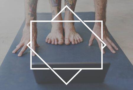 tattooed: Brand Branding Logo Label Business Concept