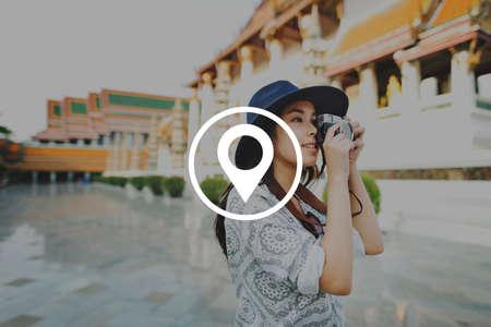 global positioning: Location Global Positioning System Navigation Trip Concept