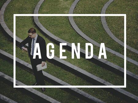 puntual: Agenda Appointment Calendar Postion Punctual Concept Foto de archivo