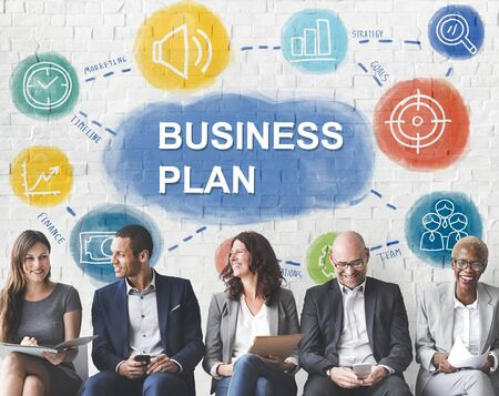 multiethnic: Multiethnic People Business Plan Concept
