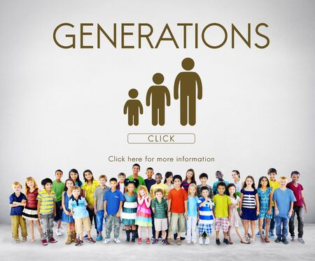 lineage: Generations Family Togetherness Relationship Concept