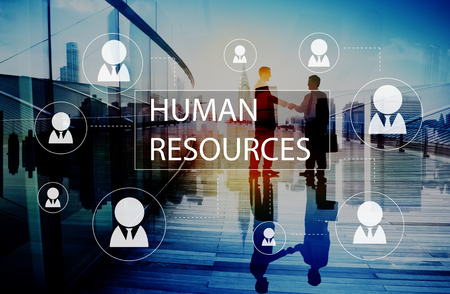 Human Resources Business Profession Graphic Concept Stock Photo