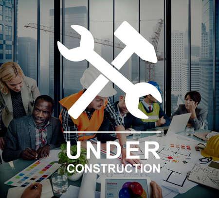 diversity domain: Under Construction Technical Problems Progress Concept