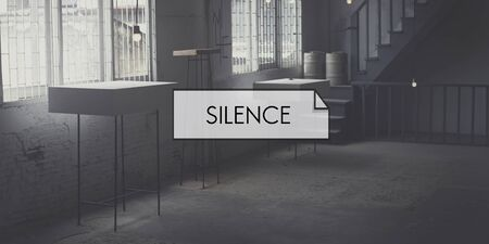 peace and quiet: Silence Tranquil Envision Mindfulness Peace Quiet Concept