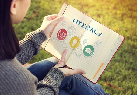 Academic Knowledge Literacy Wisdom Education Concept Reklamní fotografie