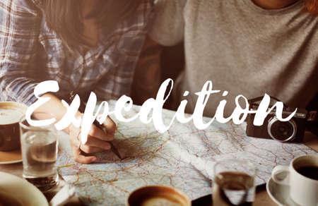 Expedition Adventure Destination Travel Trip Concept