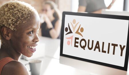 parity: Equality Fairness Fundamental Rights Racist Discrimination Concept
