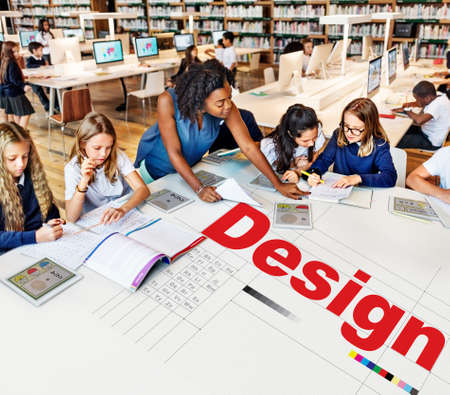 interface design: Design Ideas Creativity Thoughts Imagination Inspiration Plan Concept Stock Photo