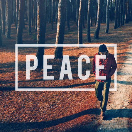 freedom of thought: Peace Calm Freedom Quiet Solitude Independance Concept