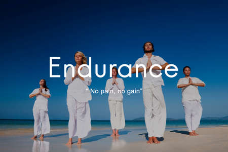 stability: Endurance Strength Energize Stability Performance Concept