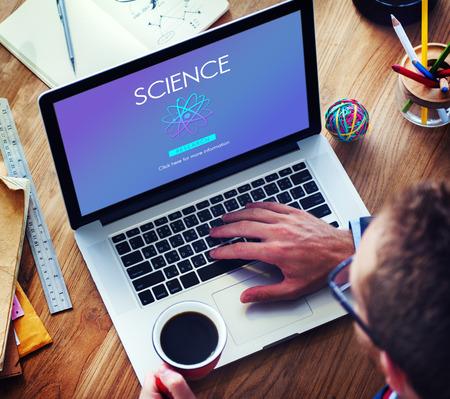 experimental: Science Education Experimental Innovation Subject Concept Stock Photo