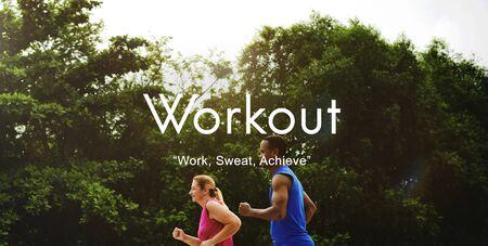 cardio: Workout Exercise Physical Activity Training Cardio Concept