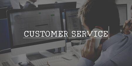buyer: Customer Service Goods Buyer Concept