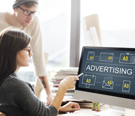 emarketing: Advertisting Commercial Marketing Digital Branding Concept