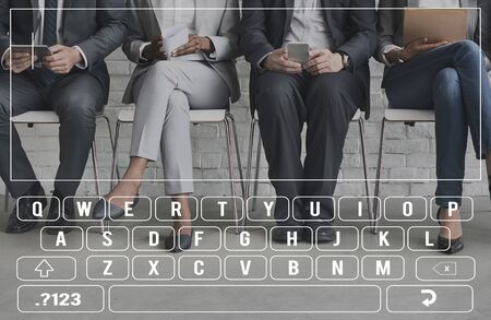 typing on keyboard: Search Keyboard Typing Graphic Concept