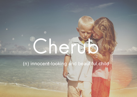cherub: Cherub Kids Child Adolescence Young Toddler Concept