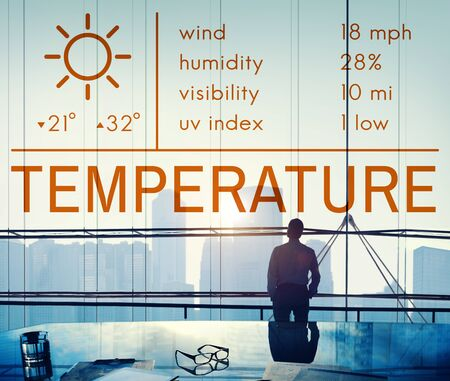 climate: Temperature Heat Hot Weather Climate Concept