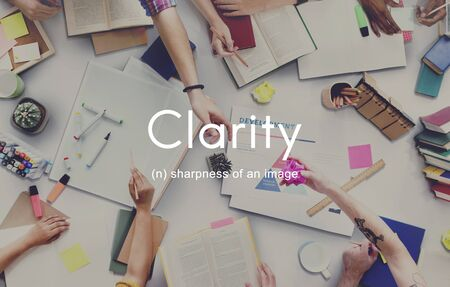 visible: Clarity Design Clear Creativity Visible Simple Concept