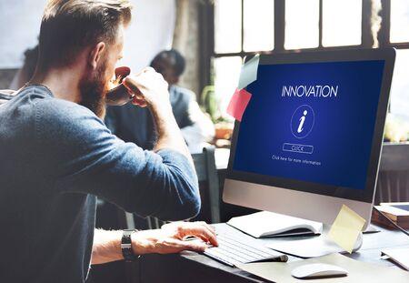 computer tech: Information Help Faq Letter Icon Concept