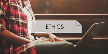 morals: Ethics Morals Integrity Values Concept