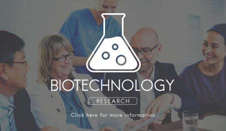 biochemistry: Scientific Biochemistry Genetics Engineering Concept Stock Photo