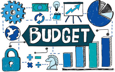 expenditures: Budget Finance Banking Expenditures Economy Concept