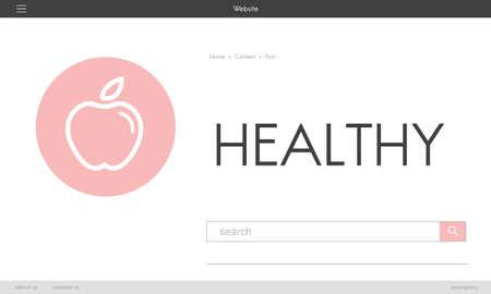 Women's health: Health Wellness Diet Exercise Organic Concept