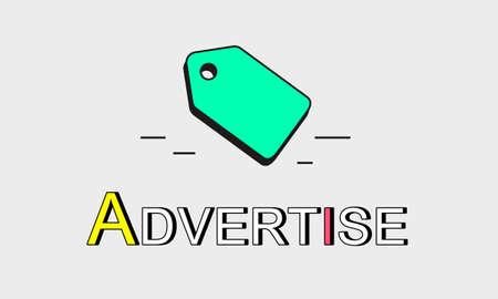 trademark: Tag Trademark Copyright Business Marketing Icon Concept Stock Photo