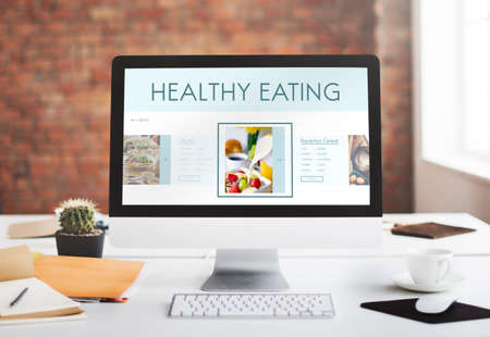buen vivir: Healthy Foods Wellbeing Lifestyle Nutrition Concept