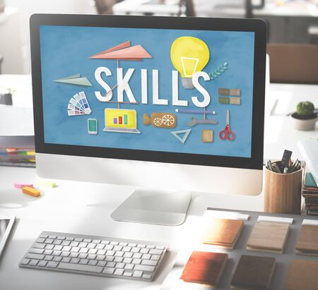 expertise: Skills Ability Talent Expertise Performance Intelligence Concept